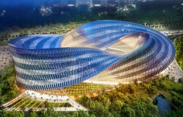 Бельгийский архитектор Винсан Каллебо Vincent Callebaut для парка в Тайване